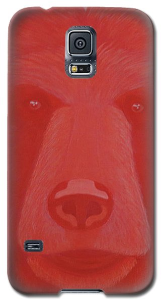 Vermillion Bear Galaxy S5 Case