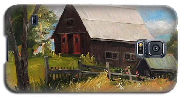 Vermont Barn Galaxy S5 Case by Nancy Griswold
