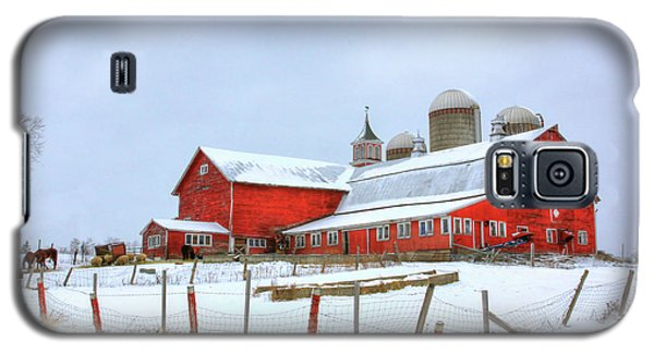 Vermont Barn Galaxy S5 Case