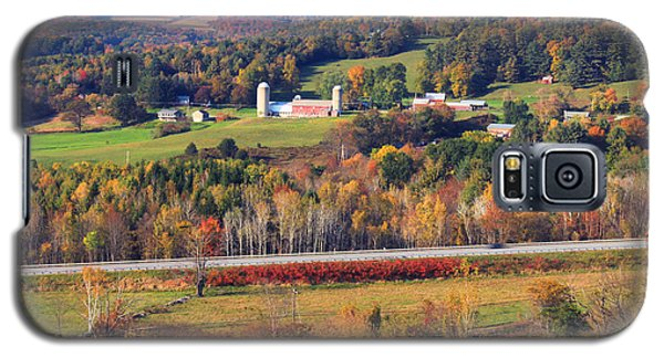 Vermont Countryside View Pownal Galaxy S5 Case by John Burk
