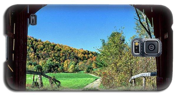 Vermont Covered Bridge Galaxy S5 Case
