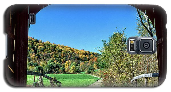 Vermont Covered Bridge Galaxy S5 Case
