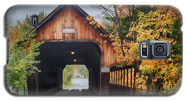 Vermont Fall Colors Over The Middle Bridge Galaxy S5 Case