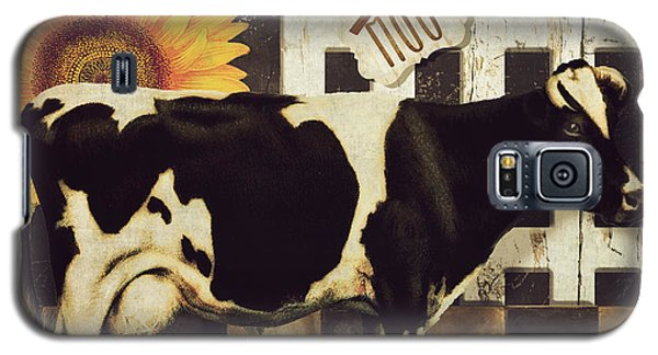 Cow Galaxy S5 Case - Vermont Farms Cow by Mindy Sommers
