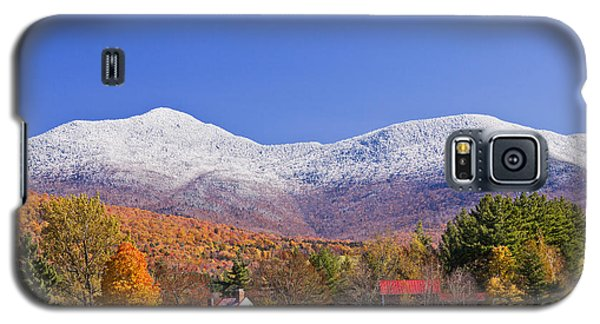 Vermont October Moonrise Galaxy S5 Case