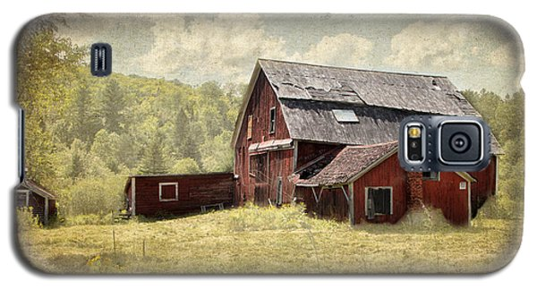 Vermont Red Barn  Galaxy S5 Case