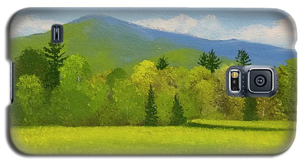 Galaxy S5 Case featuring the painting Vermont Spring by Frank Wilson