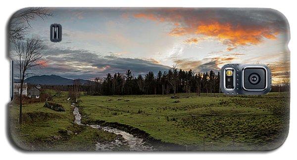 Vermont Sunset Galaxy S5 Case