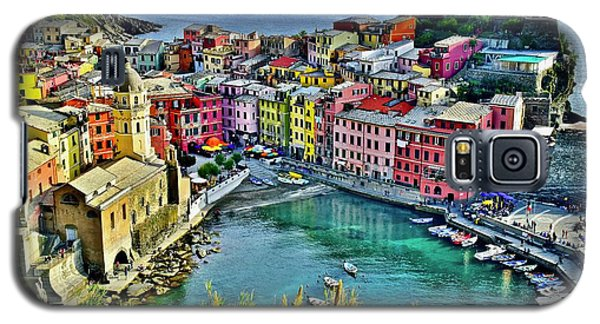 Vernazza Alight Galaxy S5 Case by Frozen in Time Fine Art Photography