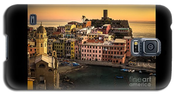 Vernazza At Sunset Galaxy S5 Case