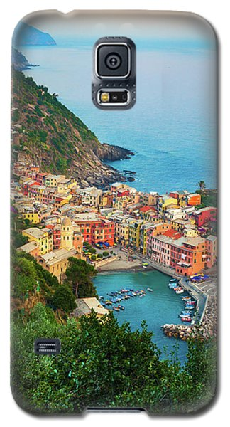 Sunset Galaxy S5 Case - Vernazza From Above by Inge Johnsson