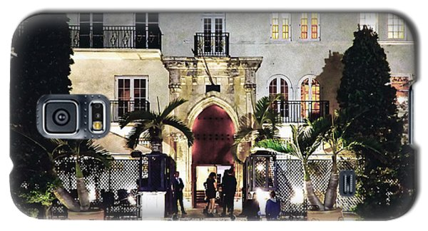 Galaxy S5 Case featuring the photograph Versace Mansion South Beach by Gary Dean Mercer Clark