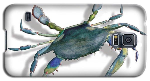 Very Blue Crab Galaxy S5 Case