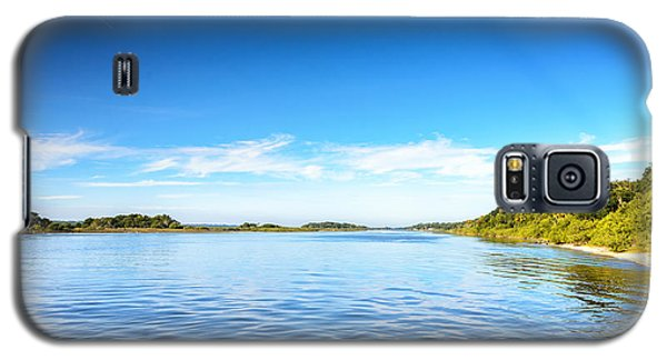 River Blue Galaxy S5 Case