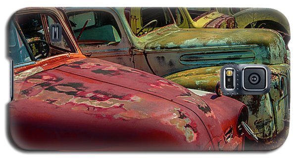Galaxy S5 Case featuring the photograph Very Late Models by Jeffrey Jensen