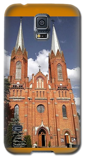 Religious Galaxy S5 Case - Very Old Church In Odrzywol, Poland by Arletta Cwalina