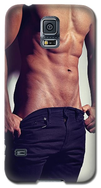 Very Sexy Man With Great Muscular Body Galaxy S5 Case