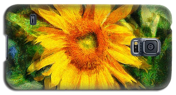 Very Wild Sunflower Galaxy S5 Case