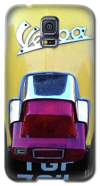 Galaxy S5 Case featuring the photograph Vespa Style by Rebecca Harman