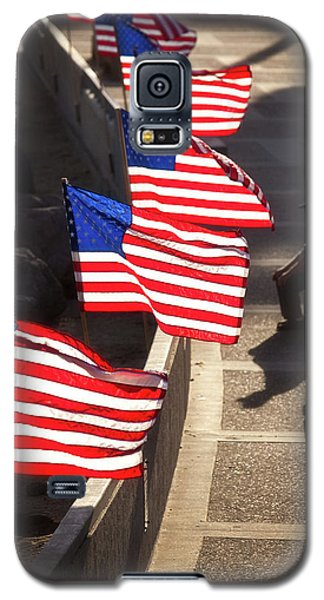 Veteran With Our Nations Flags Galaxy S5 Case