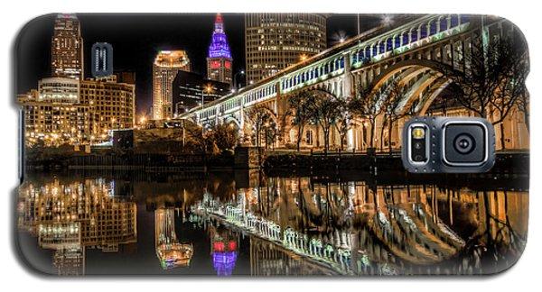 Galaxy S5 Case featuring the photograph Veterans Memorial Bridge by Brent Durken