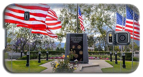 Veterans Monument Camarillo California Usa Galaxy S5 Case