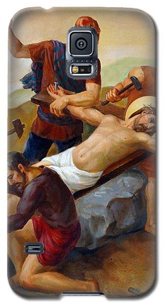 Via Dolorosa - Jesus Is Nailed To The Cross - 11 Galaxy S5 Case by Svitozar Nenyuk