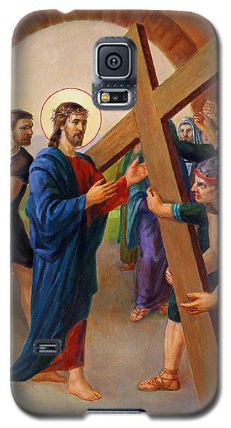 Via Dolorosa - Jesus Takes Up His Cross - 2 Galaxy S5 Case