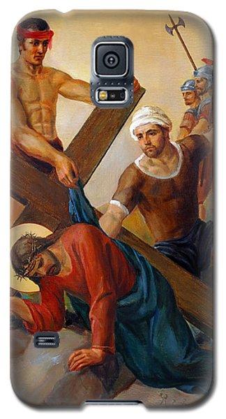Via Dolorosa - The Second Fall Of Jesus - 7 Galaxy S5 Case