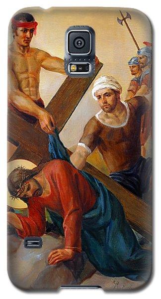 Via Dolorosa - The Second Fall Of Jesus - 7 Galaxy S5 Case by Svitozar Nenyuk