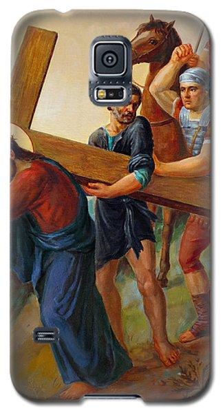 Via Dolorosa - Way Of The Cross - 5 Galaxy S5 Case