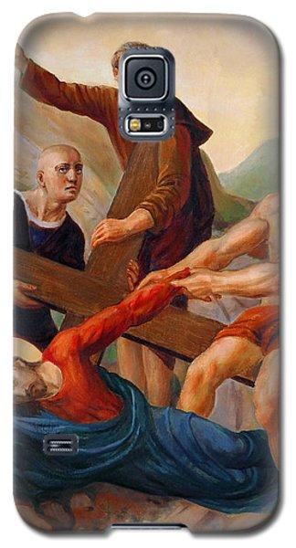 Via Dolorosa - Way Of The Cross - 9 Galaxy S5 Case by Svitozar Nenyuk