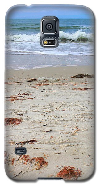 Vibrant Beach With Wave Galaxy S5 Case