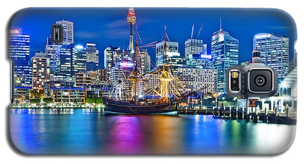 Vibrant Darling Harbour Galaxy S5 Case by Az Jackson