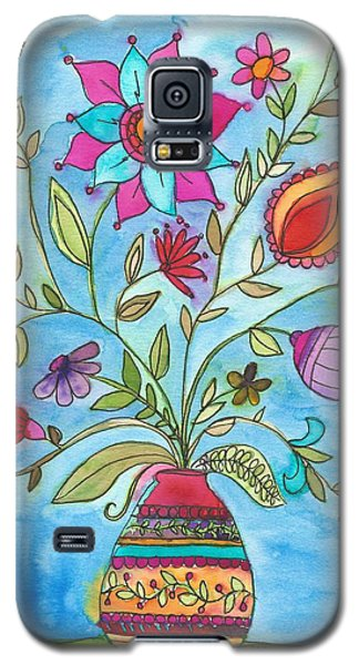 Vibrant Floral Galaxy S5 Case