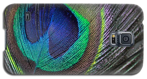 Vibrant Green Feather Galaxy S5 Case
