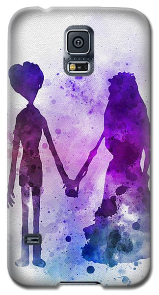 Johnny Depp Galaxy S5 Case - Victor And Emily by Rebecca Jenkins