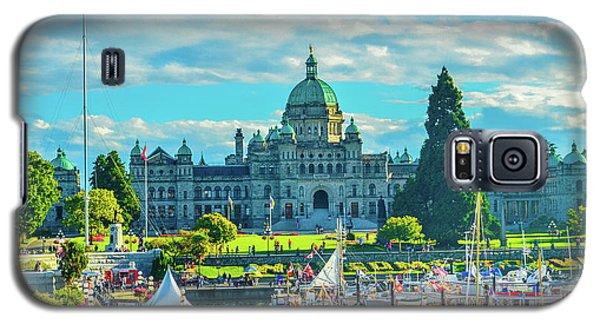 Victoria Bc Parliament Harbor Galaxy S5 Case