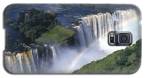Victoria Falls Rainbow Galaxy S5 Case