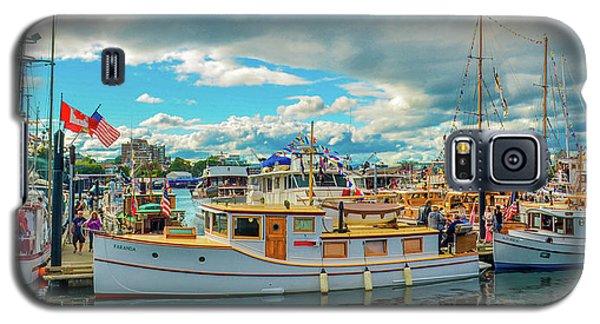 Victoria Harbor Old Boats Galaxy S5 Case