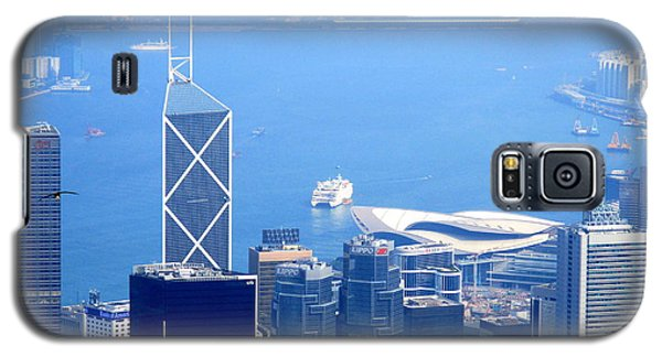 Galaxy S5 Case featuring the photograph Victoria Peak 2 by Randall Weidner