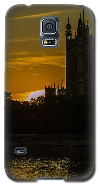 Victoria Tower In London Golden Hour Galaxy S5 Case