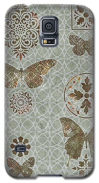 Victorian Deco Sage Galaxy S5 Case