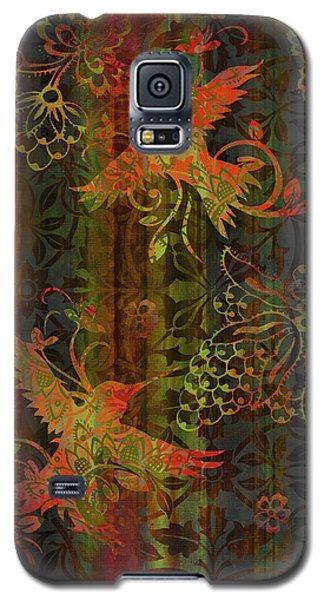 Victorian Humming Bird 3 Galaxy S5 Case