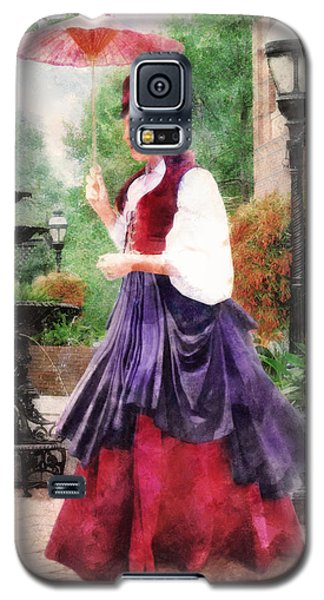 Victorian Lady Galaxy S5 Case by Francesa Miller