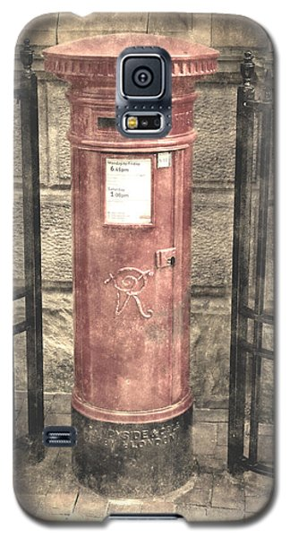 Victorian Red Post Box Galaxy S5 Case