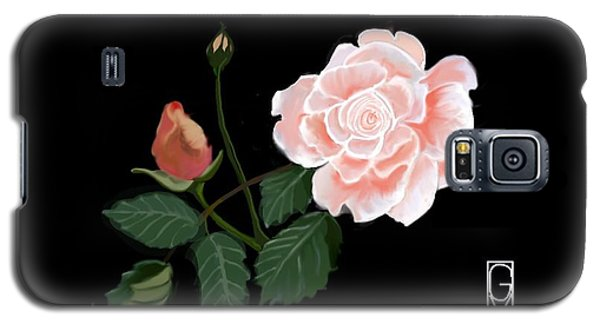 Victorian Rose Galaxy S5 Case