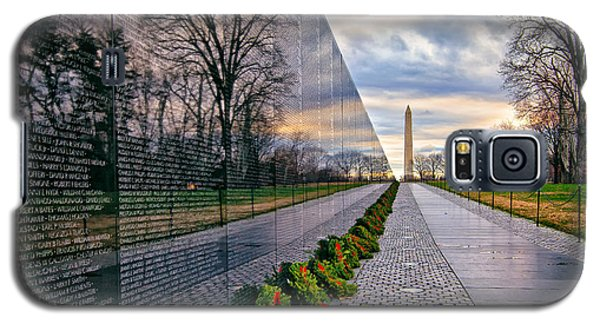 Vietnam War Memorial, Washington, Dc, Usa Galaxy S5 Case