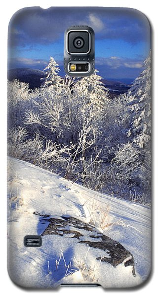 View Along Highland Scenic Highway Galaxy S5 Case