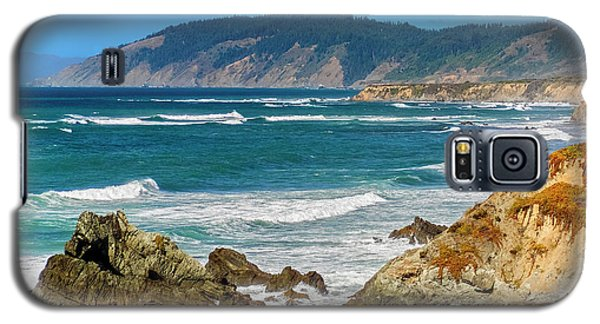 View From Abalone Point Galaxy S5 Case